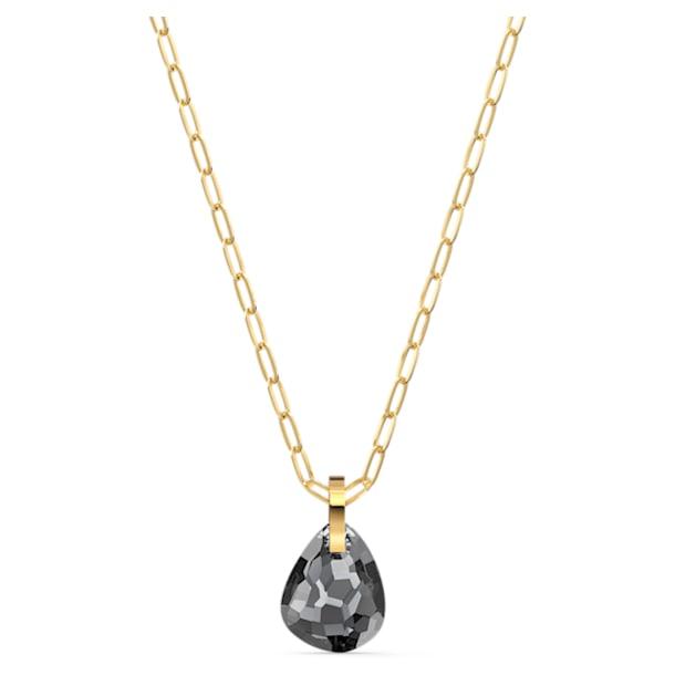 T Bar Pendant, Gray, Gold-tone plated - Swarovski, 5558340