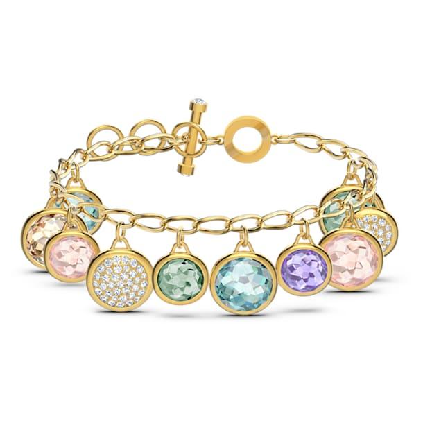 Tahlia bracelet, Multicolored, Gold-tone plated - Swarovski, 5560943