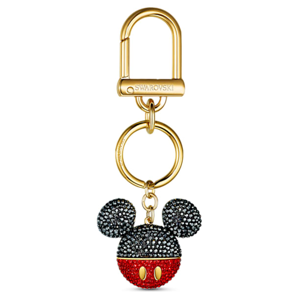 Accessorio per borse Mickey, nero, placcato color oro - Swarovski, 5560954