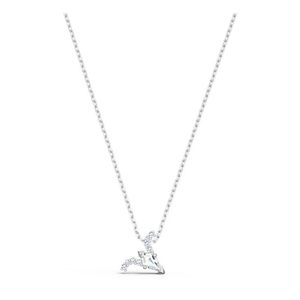 Zodiac II pendant, Aries, White, Mixed metal finish - Swarovski, 5563890