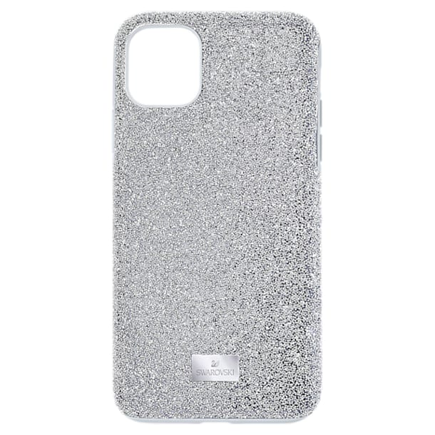 High Smartphone case, iPhone® 12 Pro Max, Silver tone - Swarovski, 5565184