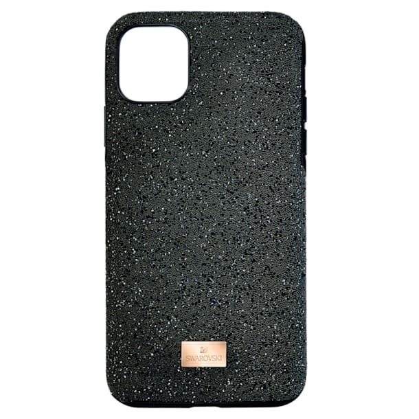 Capa para smartphone High, iPhone® 12/12 Pro, preta - Swarovski, 5565185