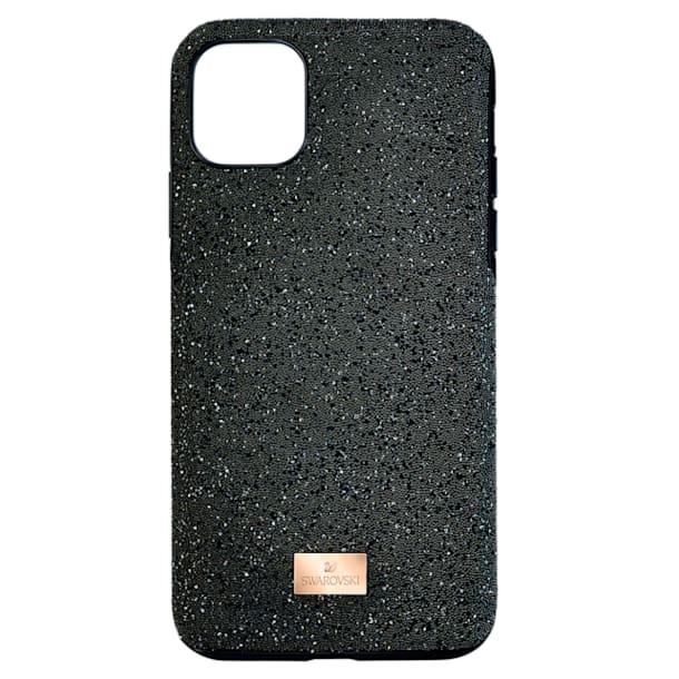 High 스마트폰 케이스, iPhone® 12/12 Pro, 블랙 - Swarovski, 5565185
