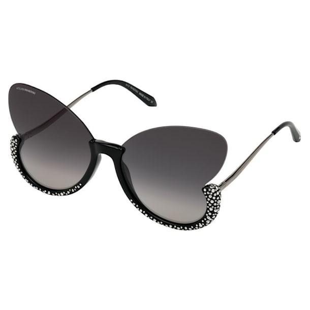 Moselle Sunglasses, Butterfly, SK0270-P, Black - Swarovski, 5565212