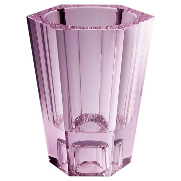 Lumen Reversible Vase, Large, Pink - Swarovski, 5567985