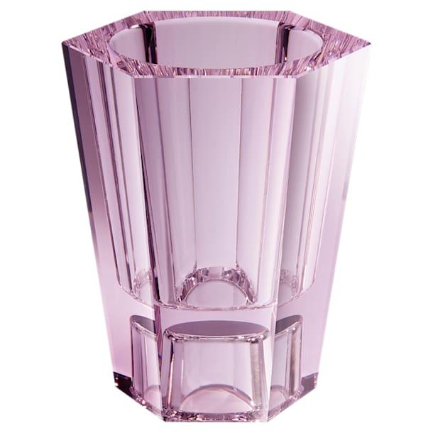Lumen Reversible Vase, Medium, Pink - Swarovski, 5567989