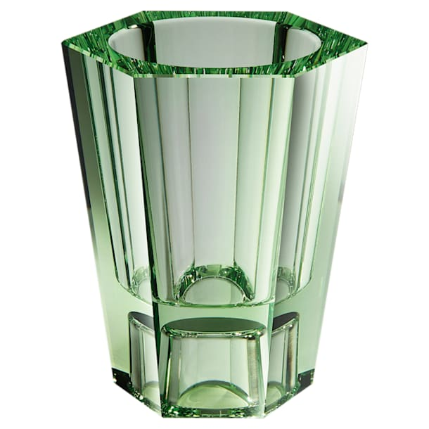 Lumen Reversible Vase, Medium, Green - Swarovski, 5567991