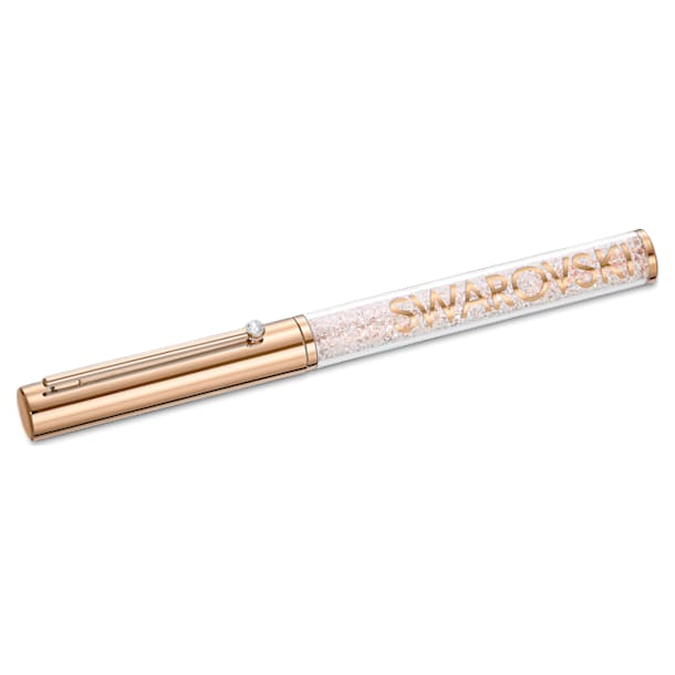 Crystalline Gloss Ballpoint Pen, Rose-gold tone plated - Swarovski, 5568753