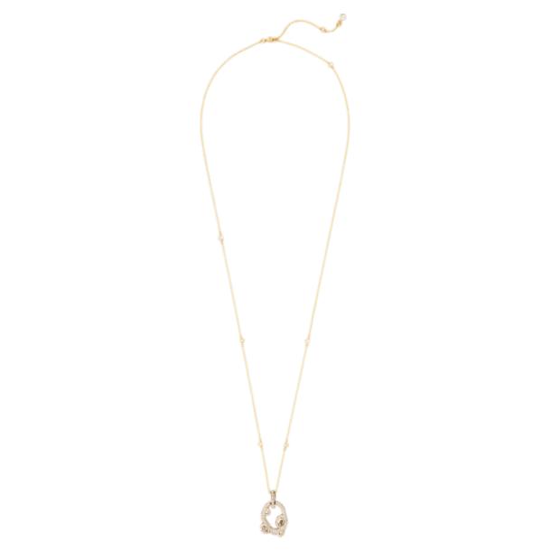 Tigris Pendant, Gold tone, Gold-tone plated - Swarovski, 5569106