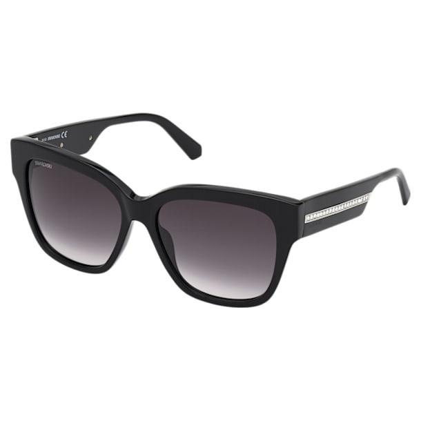 Okulary przeciwsłoneczne Swarovski, SK0305 01B, czarne - Swarovski, 5569402