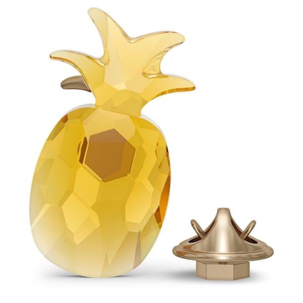 Jungle Beats Pineapple Magnet, Yellow, Large - Swarovski, 5572158