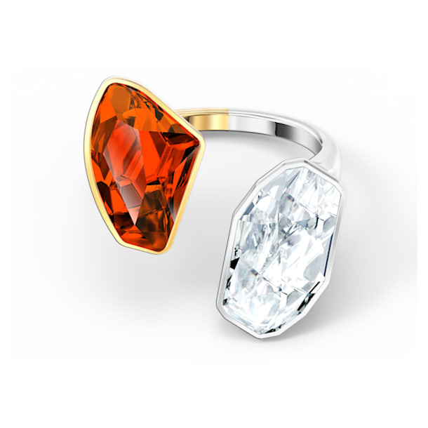 The Elements-ring, Rood, Gemengde metaalafwerking - Swarovski, 5572882