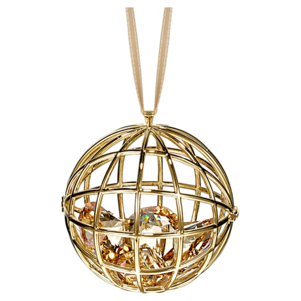 Icons of Entertainment Hanging Ornament, Gold tone - Swarovski, 5572957