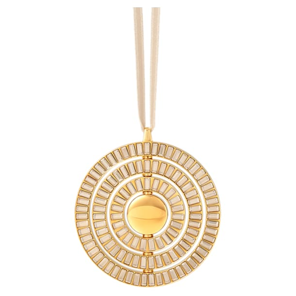 Icons of Design Hanging Ornament, Gold tone - Swarovski, 5572958