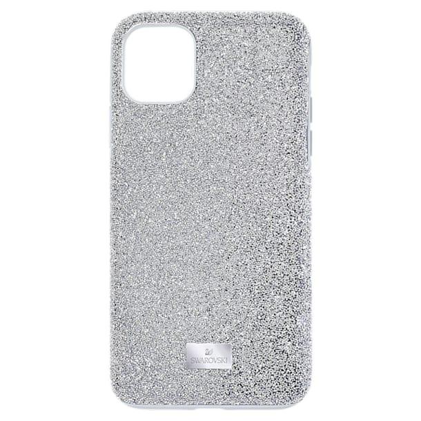 Étui pour smartphone High, iPhone® 12 mini, ton argenté - Swarovski, 5574042