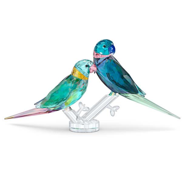 Jungle Beats Parakeet Couple Fife & Fifer - Swarovski, 5577124