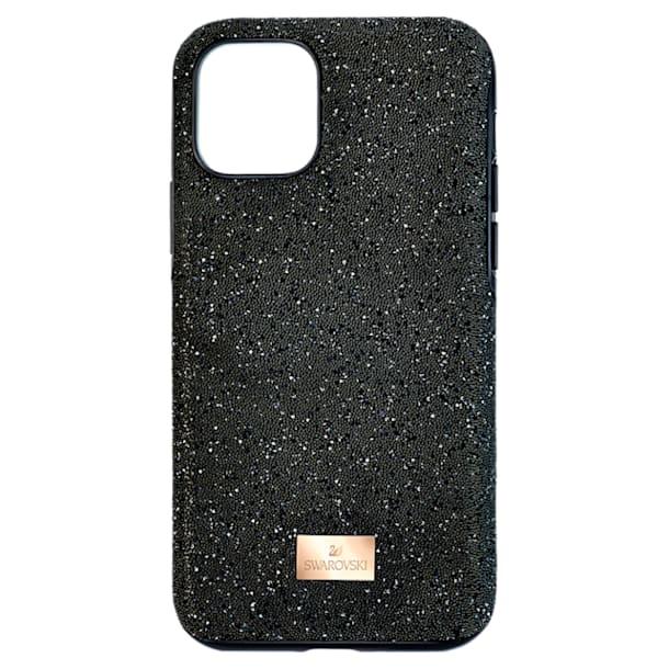 High smartphone case , iPhone® 11, Black - Swarovski, 5592031