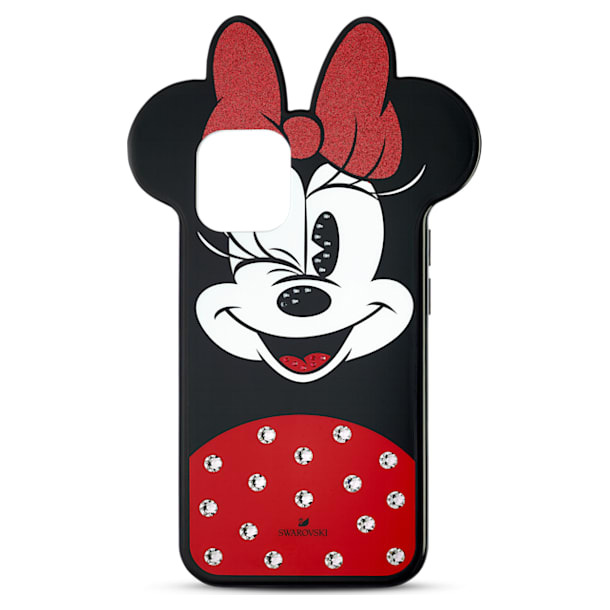 Étui pour smartphone Minnie, iPhone® 12 mini, multicolore - Swarovski, 5592048
