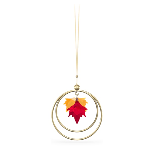 Garden Tales Autumn Leaves Ornament - Swarovski, 5594494