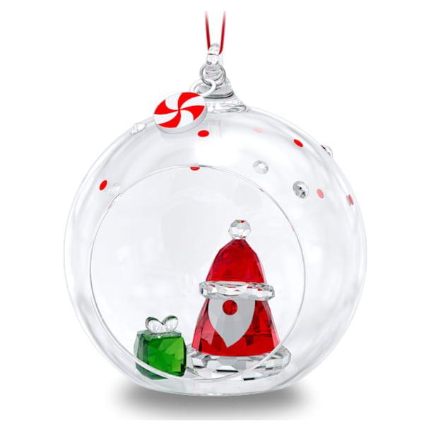 Holiday Cheers Santa Claus Ball Ornament - Swarovski, 5596382