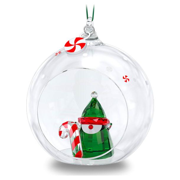 Holiday Cheers Santa's Elf Ball Ornament - Swarovski, 5596383