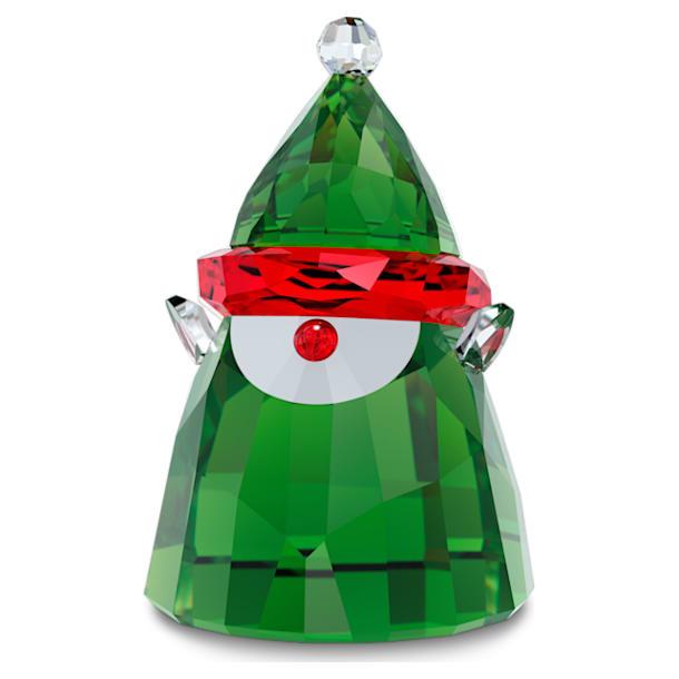 Holiday Cheers Elf Świętego Mikołaja, mały - Swarovski, 5596386