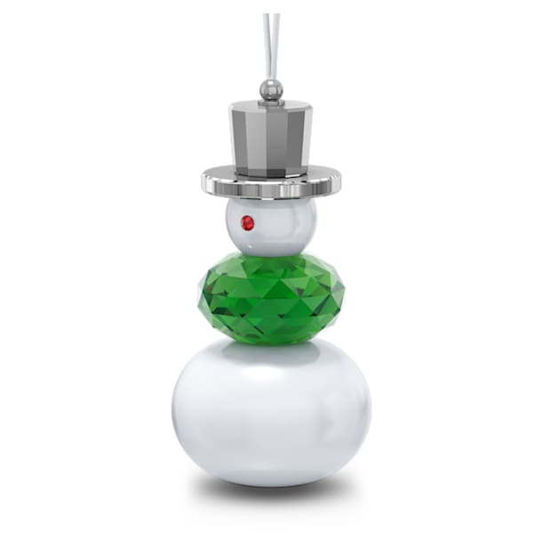 Holiday Cheers Snowman Ornament - Swarovski, 5596388