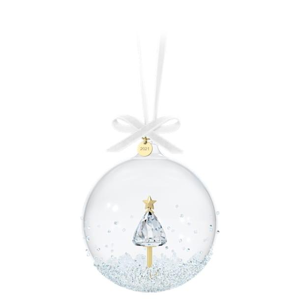 Annual Edition 2021 Ball Ornament - Swarovski, 5596399