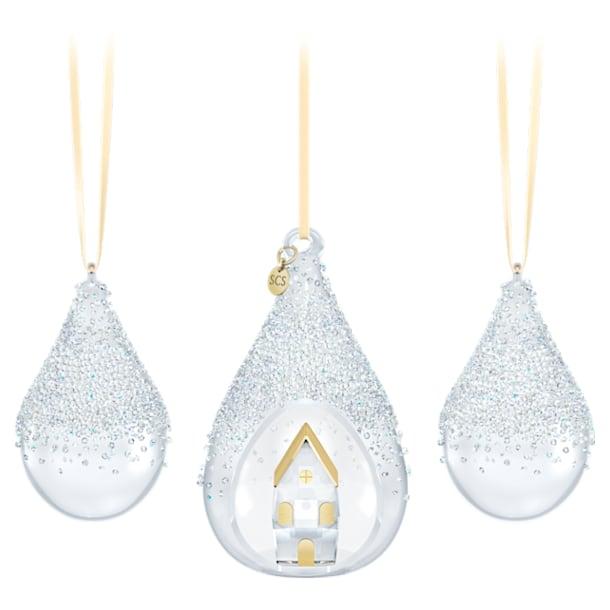 Holiday Magic SCS, ежегодный выпуск 2021 года, комплект новогодних украшений - Swarovski, 5596791