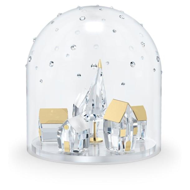 Holiday Magic Aldea invernal Campana de cristal - Swarovski, 5597141