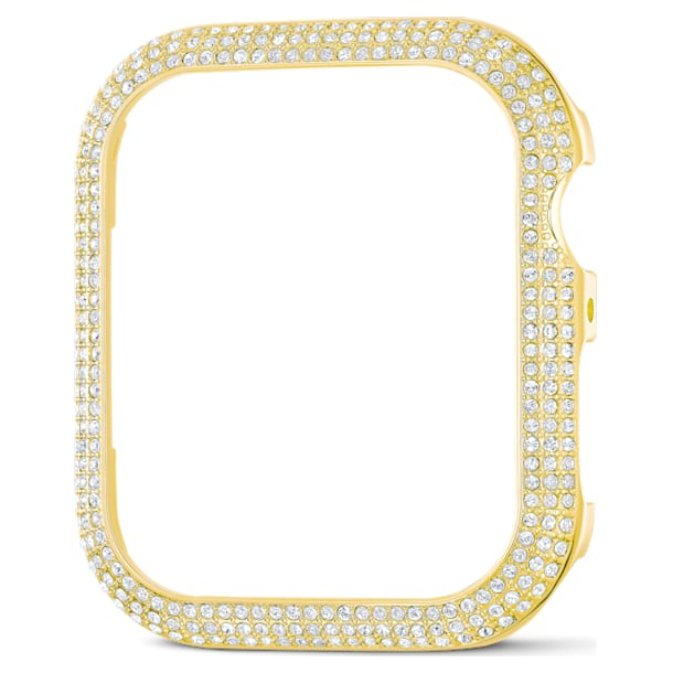 Sparkling case compatible with Apple Watch®, 40 mm, Gold tone - Swarovski, 5599697