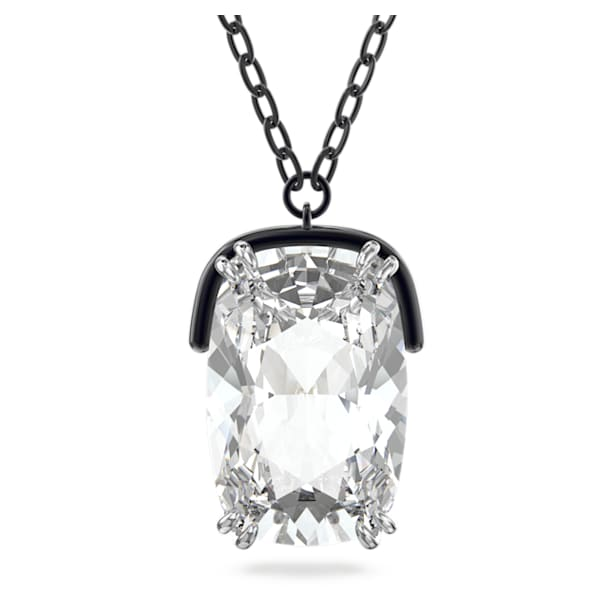 Harmonia pendant, Oversized crystal, White, Mixed metal finish - Swarovski, 5600042