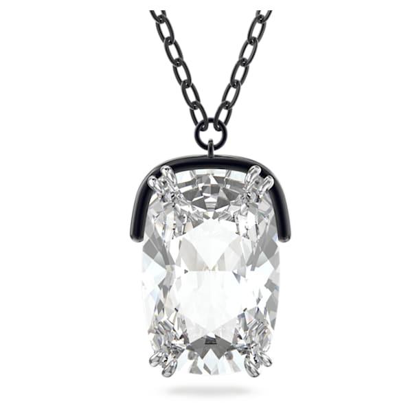 Wisiorek Harmonia, Duże kryształy, Biały, Wykończenie z różnobarwnych metali - Swarovski, 5600042