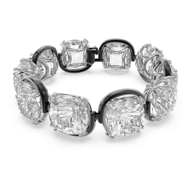 Brățară Harmonia, Cristale cu tăietură perniță, Alb, Finisaj metalic mixt - Swarovski, 5600047