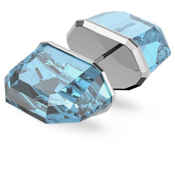 Lucent Серьга-гвоздик, Одиночный, Синий кристалл, Родиевое покрытие - Swarovski, 5600255