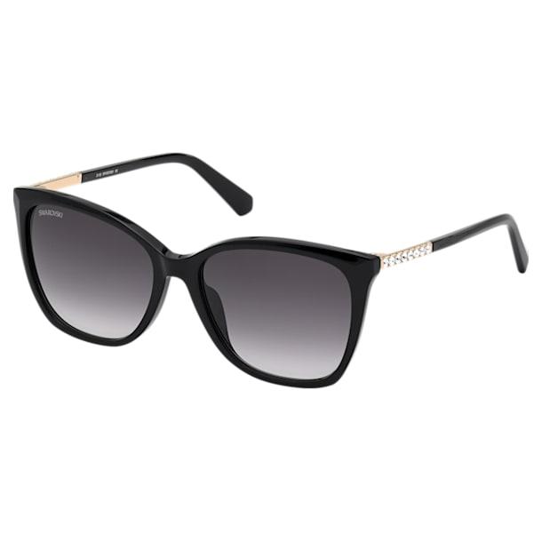 Swarovski zonnebril, SK0310 01B, Zwart - Swarovski, 5600871