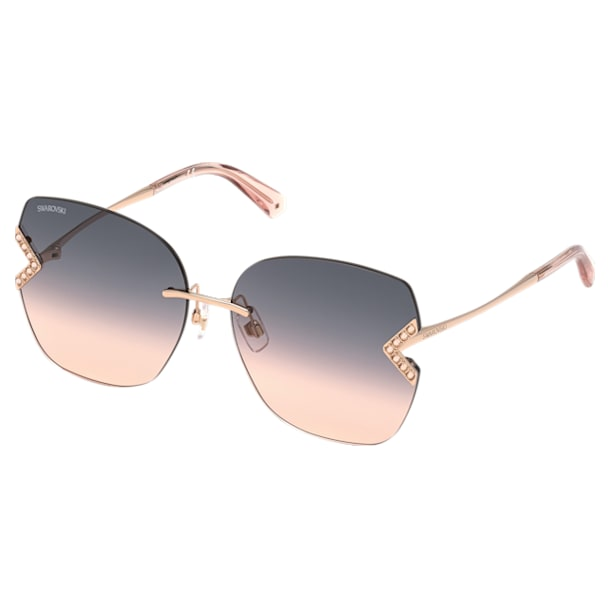 Swarovski Солнцезащитные очки, SK0306-H 28B, Покрытие розовым золотом - Swarovski, 5600905