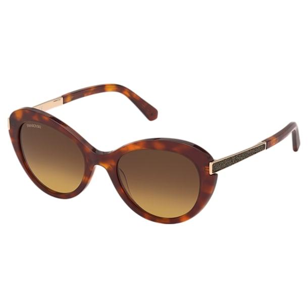 Swarovski Sunglasses, SK 0327 57F, Brown - Swarovski, 5600906