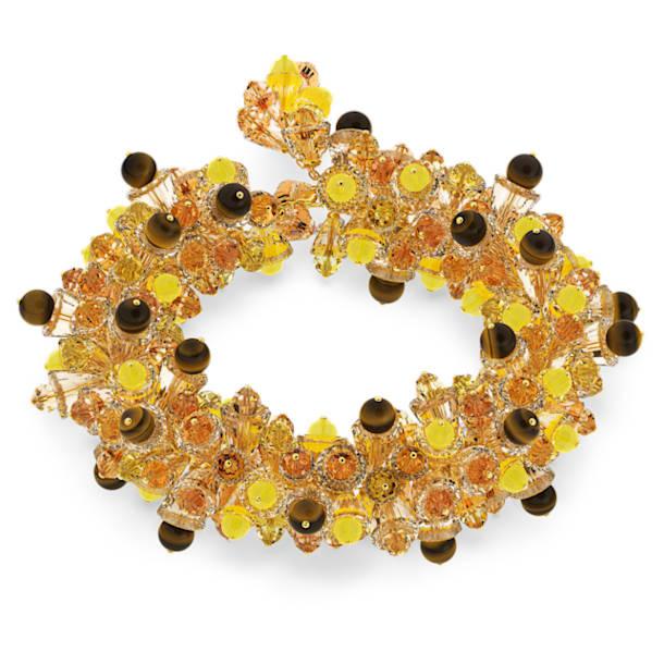 Somnia necklace, Multicolored, Gold-tone plated - Swarovski, 5601520