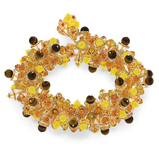 Somnia necklace, Multicoloured, Gold-tone plated - Swarovski, 5601520