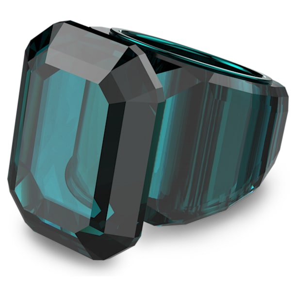 Lucent cocktail ring, Green - Swarovski, 5607344