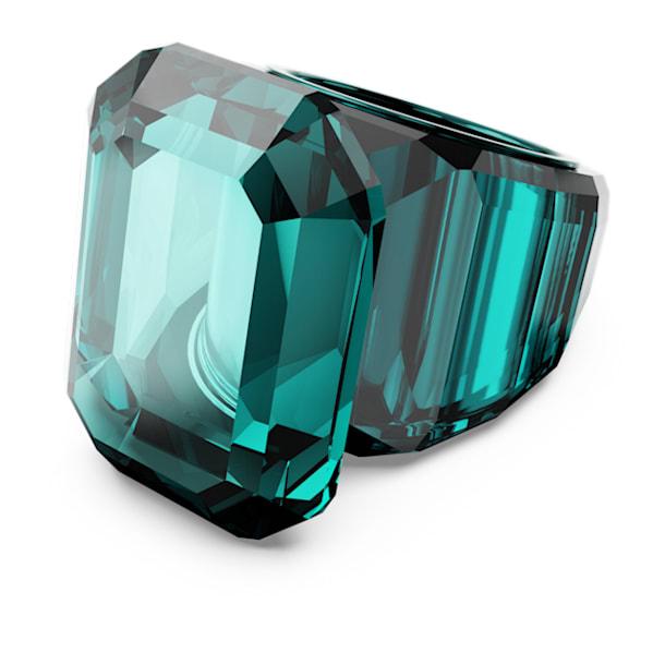 Lucent cocktail ring, Green - Swarovski, 5607345
