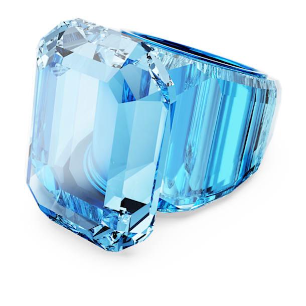 Anillo de cóctel Lucent, Azul - Swarovski, 5607353