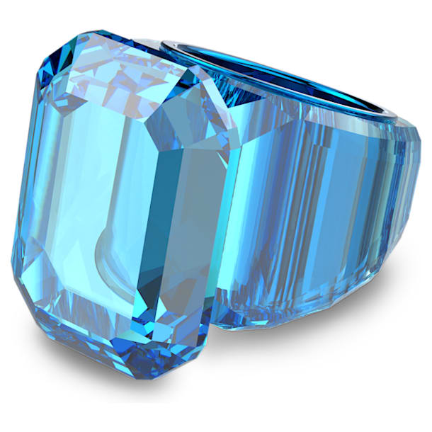 Lucent cocktail ring, Blue - Swarovski, 5607353