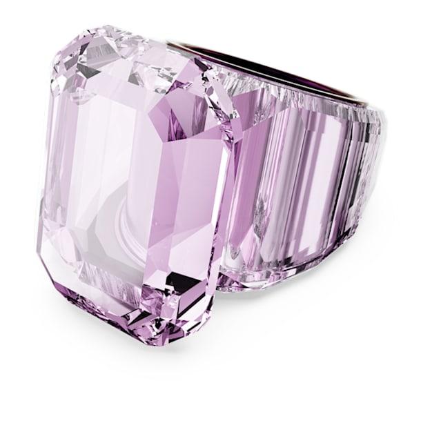 Lucent koktélgyűrű, Rózsaszín - Swarovski, 5607362