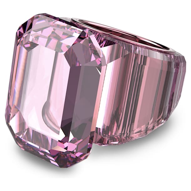 Lucent cocktail ring, Pink - Swarovski, 5607362