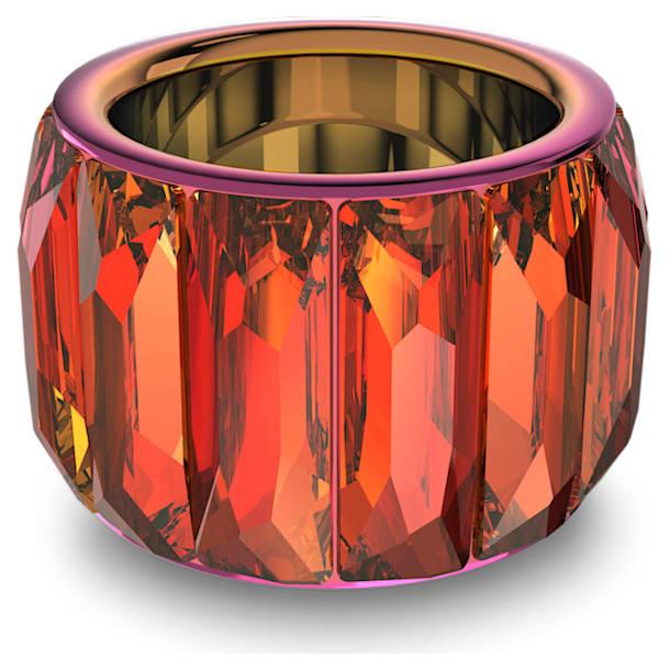 Curiosa gyűrű, Rózsaszín - Swarovski, 5607415