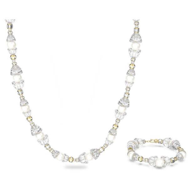 Somnia set, Multicoloured, Gold-tone plated - Swarovski, 5610981