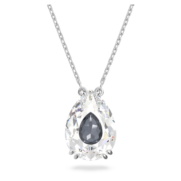 Collier Elegance of Africa, Blanc, Métal rhodié - Swarovski, 5615114