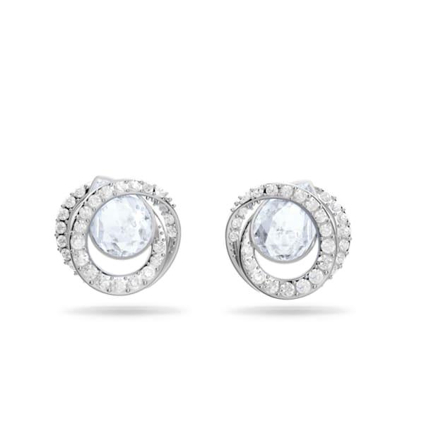 Generation oorstekers, Blauw, Rodium toplaag - Swarovski, 5616264